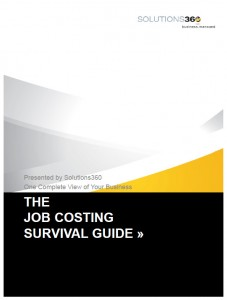Job Costing Survival Guide Solutions360
