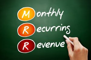 recurring monthly revenue, RMR