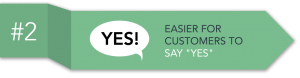 selling as-a-service - easier for customers to say 'yes'