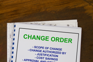 managing change orders
