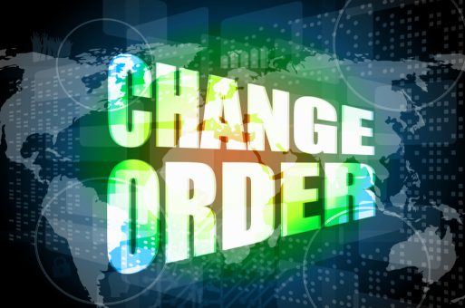 Project Change Orders - Manage Them or Just Make Them?